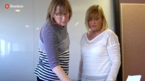 Cara McAleer and Cathy Kerrigan