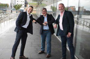 Marv van Niekerk, Rich Dale, Paddy Hearty - Flowlens MRP software
