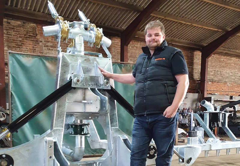 Gissing Farm Machinery Flowlens partnership