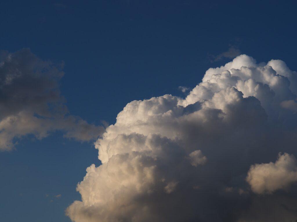 cloud in sky