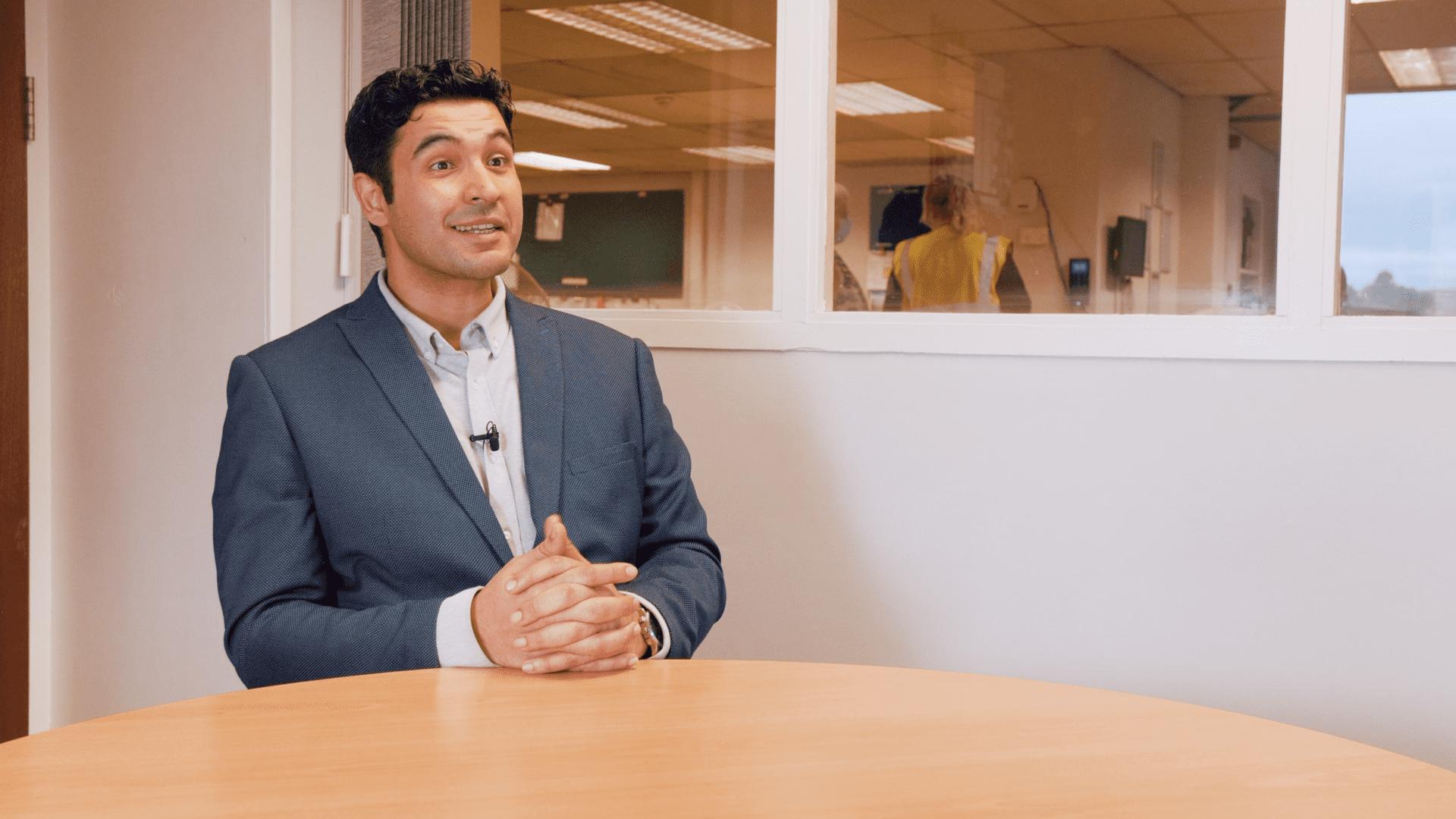 Ahmed Alainiah of Talbott's Biomass Energy Systems Ltd talks about the Flowlens MRP system